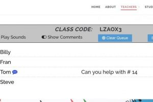 ClassroomQ: Helping in a Simple and Organized Way